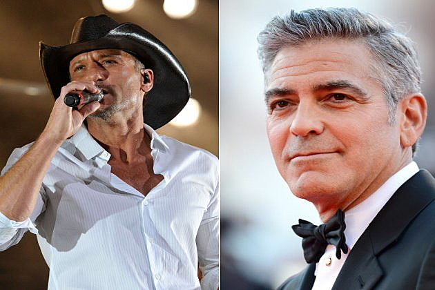 tim mcgraw and george clooney
