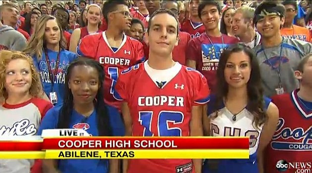 Cooper High School Students on GMA