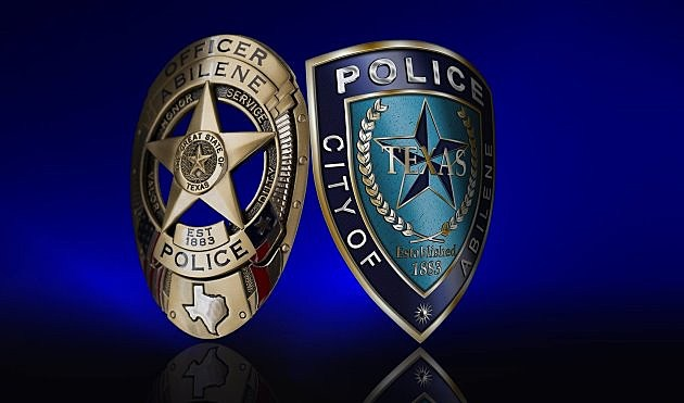 Abilene Police Department Shield and Badge
